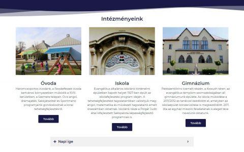 Sztehlo Gábor Evangélikus Óvoda, Általános Iskola és Gimnázium